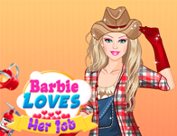 Barbie Loves Her Job