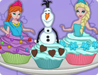 Cooking Academy Elsa Cupcakes