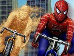Spiderman Bike Play
